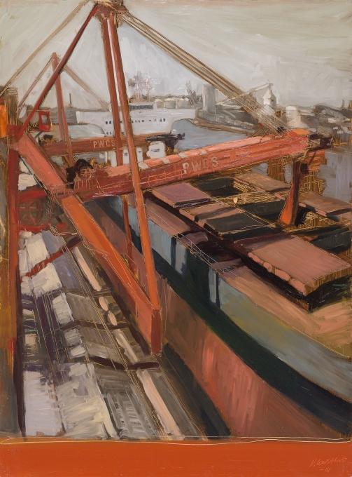 PWCS 2014 Oil on Hardboard 122 X 80 cm