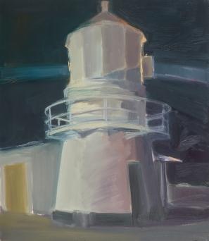 Light House 2014 Oil on Hardboard