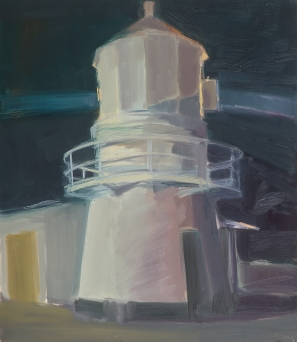 Light House 2014 Oil on Hardboard