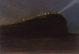 Night light 1 Oil on Hardboard 51 X 78.5