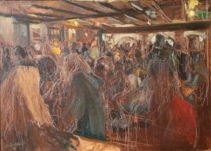 GMC Celebration 2 Oil on Canvas 66 X 91.5 cm