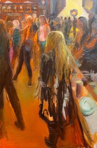 GMC Celebration 1 2015 Oil on Canvas 137.5 X 92 cm