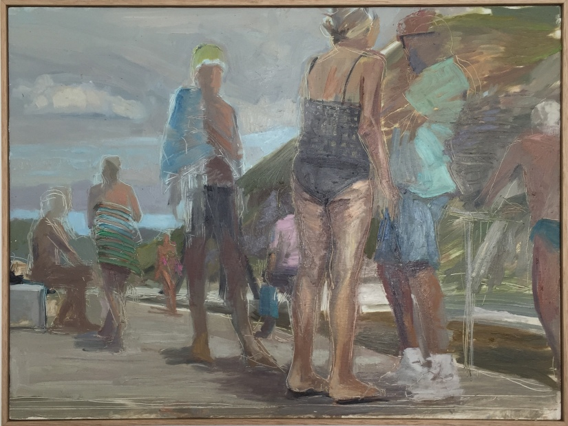 dino-consalvo_bathers_oil-on-board